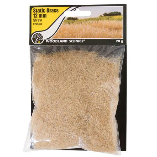 12mm STRAW STATIC GRASS