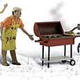 O-SCALE BACKYARD BARBEQUE