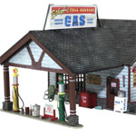 NEW!  O-SCALE ETHYL'S GAS & SERVICE