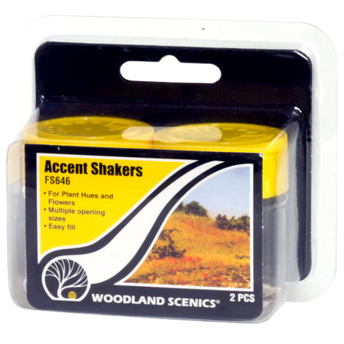 ACCENT SHAKERS - SET OF 2
