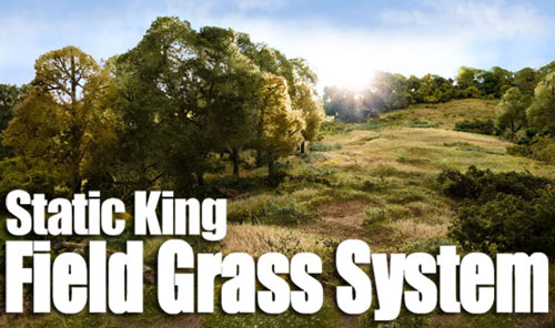 New Static Grass Application System by Woodland Scenics