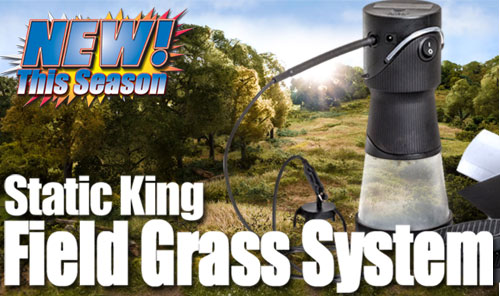 New Static King Field Grass System