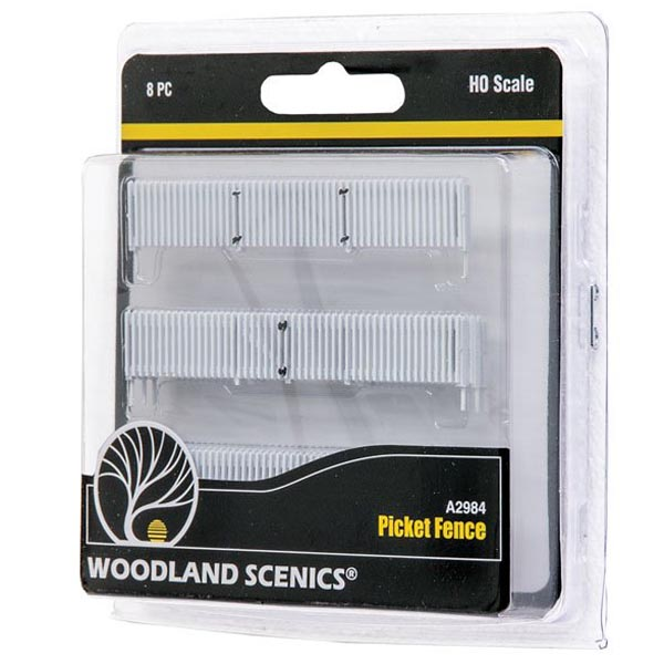 HO-SCALE PICKET FENCE