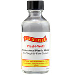 NEW! PLAST-I-WELD GLUE 2 FL OZ.