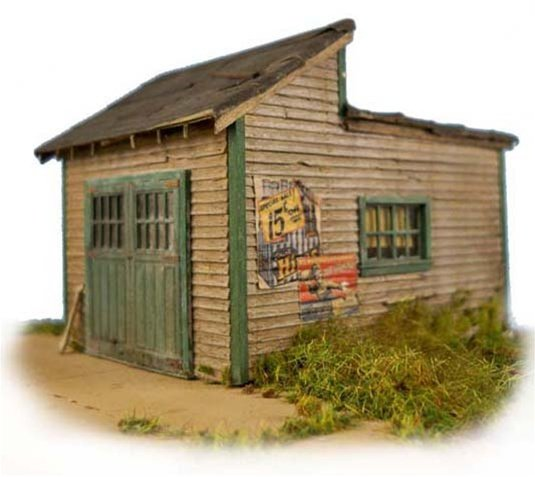 HO-SCALE MARTIN'S GARAGE