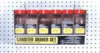 CANISTER SHAKER (SET OF 6)